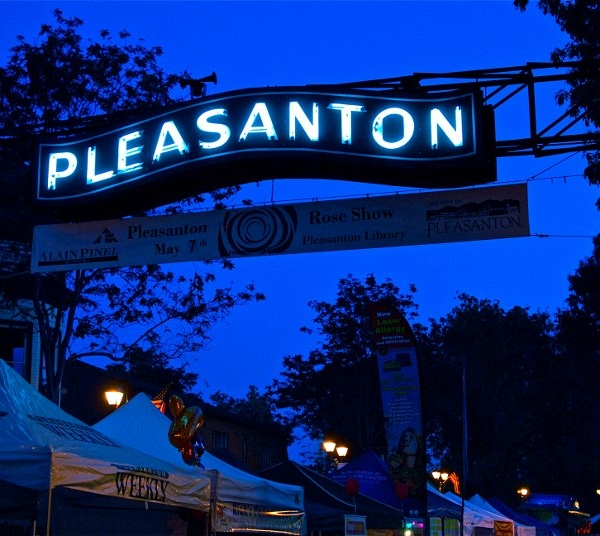 Pleasanton First Wednesday Street Party