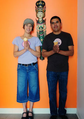 Owners, Tara and Raciel Esperanza