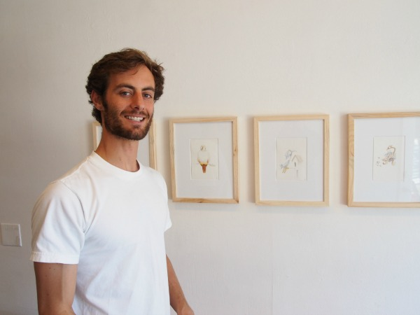 New Temescal Art Show: Pecking Order: Small Works by Liam O'Donnell