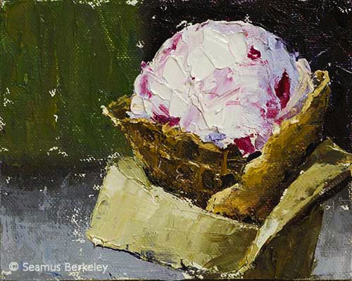 ICE CREAM! Painting by Seamus Berkeley