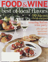 Food & Wine Magazine Loves Tara's