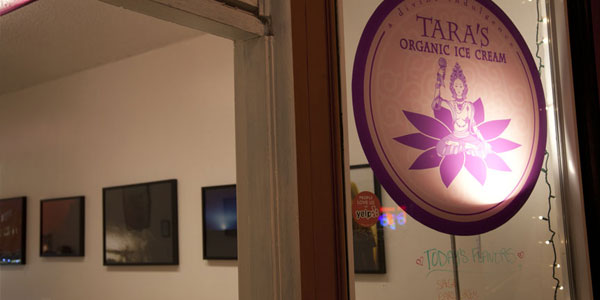 Installation view of Tara's shop on Telegraph Ave, Oakland